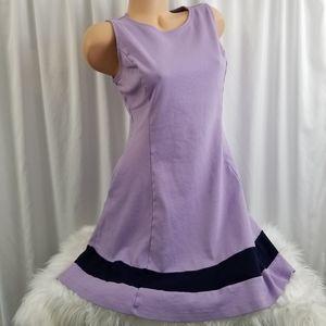 New York & Company Lavender Tank Short Dress L